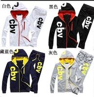 Free Shipping 2014 fashion lovers supreme hoodie spring sweatshirt set hoodies women&men lovers hoodies and sweatshirts M-XXL