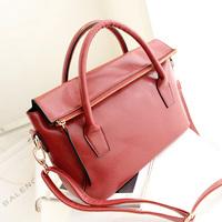 Winter women's handbag fashion shoulder bag messenger bag brief fashion vintage handbag motorcycle bag  Free shipping