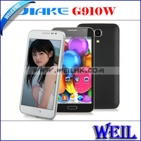 JIAKE G910W Phone With MTK6572W Dual Core Android 4.2 3G GPS WIFI 5.0 Inch Capacitive Screen Smart Phone black/white MD0893