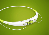 Free shipping HBS-740 Bluetooth Neckband Stereo Earphones/ Headphone/ Headset for Smart Phones