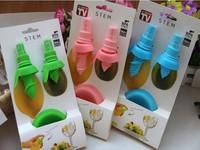 2pcs/set Lemon Juice Sprayer Citrus Spray Mini Squeezer Hand Juicer Kitchen Tools Set Creative Gifts Free shipping