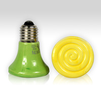 Free Shipping Mini ceramic lamp heated lamp pet mosquera heated heat lamp ceramic heated device eye-lantern lamp 30w