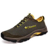 New 2014 brand men sneakers non slip wearable breathable out door sport running shoes spring summer hiking shoes mens