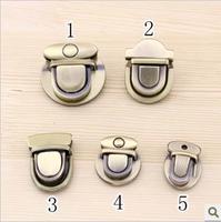 Bag Accessories lock Handbag Accessories, fashion handbag turn twist lock  5 design  10 pcs Free shipping