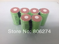 free   shipping  20pcs/lot  1.2V  1500mAh SubC SC NiCD rechargeable cell with solder tags