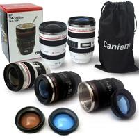 wholesale 100pcs/lots Plastatic travel Coffee camera EF24-105 lens mug sport lens cup with flower lid caniam LOGO printed
