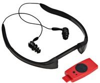 WaterProof MP3 Player FM Radio 4GB Waterproof Swimming Surfing SPA IPX8 Sports mp3 free shipping