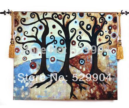 138cm X 113cm Tree of Life Wall Tapestry Hanging for living dining room decoration(China (Mainland))