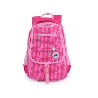 2014 BAG Primary school students 1 - 3 child school bag backpack waterproof