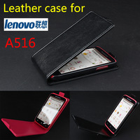 NEW Hot Best Price Good Quality Lenovo A516 Leather Case Mobile Phone Luxury Flip Case Black Pink Color In Stock