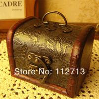 New arrival new 2014 retro style  zakka organizers 8.6*6.5*6.5cm organizer boxes antique jewelry box wholesale