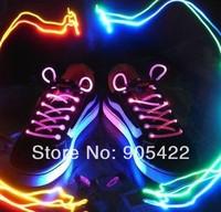 10pcs/lot(5pair) Paid for sale No battery Flash light up led shoelace WJ09