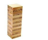 Creative jenga 48pcs/pack family board game Domino game 16*5.5*5.5cm