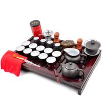 Kung fu tea solid wood tea tray yixing tea set tea set