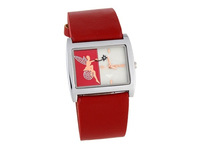 Fashion Angel Design Square Dial Watch Women's Dress Casual Quartz Watches With PU Leather Strap