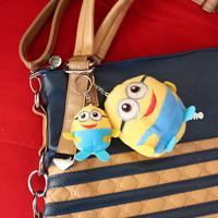 Thief Daddy Couple loaded key chain, pendant Despicable Me Minion 2 cartoon plush toys