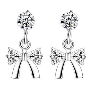 Серьги-гвоздики DALI Jewelry 925 ,  & 3 , WE48 аксессуары mei xia jewelry 925