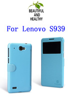 NILLKIN Fresh Series Leather Case For Lenovo S939 +  Retailed Package + Free Shipping