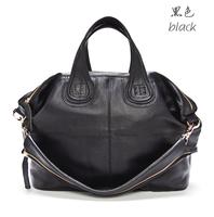 Original 100% First Genuine Leather Bag Casual Fashion Big Cowhide Designer Brand Women Leather Handbags Women's Shoulder Bags