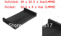 "Accordion Shaped Stretchy 11.8"" Length Dust Protective Cover for CNC Machine"