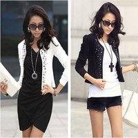 2014 new hot Fashion Cozy women clothes Shawl Coat Comfortable leisure slim Wild suit Ms. jacket lady blazers WA