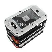 2014 Newest High QuanlityAluminum Metal Waterproof Shockproof Dustproof Case For iPhone 5 5s