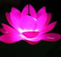 9 Colors Waterproof Lotus Lantern Wedding Christmas Decorative Lights Nightlight String Holiday Lights