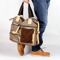 Male bags men's canvas bag big bag travel bag casual bag messenger bag