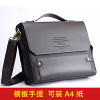 Paul male bags male polo document business bag messenger bag men