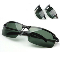 Male sunglasses polarized sunglasses male sunglasses sports stainless steel driving mirror glasses frame