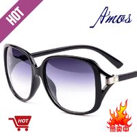 2013 women's fashion large frame sun glasses fashion star elegant all-match sunglasses vintage