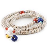 8x6mm tibetan bell mouth ingot seed bodhi son of the moon and stars 108 male Women bracelet
