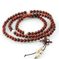 3 - 4 ring Women bracelet girlfriend gifts lobular red sandalwood bracelets