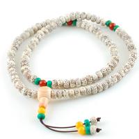 Bodhi son of bracelets 108 white moon and stars beads women's rosary bracelet