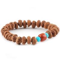 Natural bodhi son of lotus 27 top bracelets 8-10mm