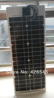 High efficiency mono crystalline flexible solar panel 75w