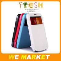 Nillkin Fresh Series Flip Leather Case For Motorola MOTO G XT1028 XT1032 XT1031,Retail Package MOQ:1Pcs Free Shipping
