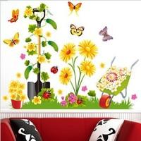 Child decoration sticker butterfly