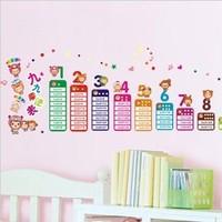 Doll digital letter child decoration sticker