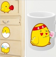 Chick diy refrigerator air conditioning kitchen cabinet cup computer switch stickers 1 set 9