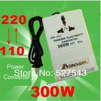 Free shipping 300W 220V-110V transformer two-way power electricity converter AC adaptor transformer