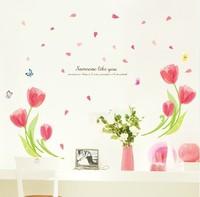 Furnishings romantic tv decoration wall stickers
