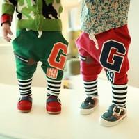 Hot-selling 2014 Spring Autumn Baby Child Kids 69g Harem Pants  Boys Girls Casual Pants Leggings