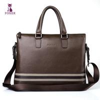 man bag cowhide handbag fashionable casual shoulder bag genuine leather man bags  totes