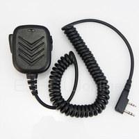 2 Pin Handheld Speaker Mic for KENWOOD BAOFENG QANSHENG WOUXUN PUXING Radio Walkie talkie transceiver interphone