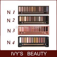 Professional Eye Shadow Eyeshadow Pigment Nude 12 Colors Makeup Cosmetic Tools