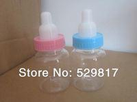Free shipping 20pcs/lot small Milk feeding bottle Candy Box ,Baby birth party sweet box,cute bottle