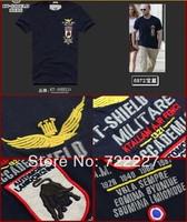 New 2014 Men's T Shirt Print Sewing Short Sleeve Cotton T-shirts Male Quality Fashion Brand Design Slim Tshirt For Men TT6872X
