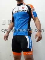 New Arrived!2014 CASTELLI VELOBlue Cycling Jersey Short Sleeved /bib Shorts /Cycling Kits/wear Summer Cycling Clothing