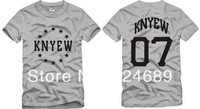 Free Shipping Size 90/100/110/120/130/140/150cm kids tshirt  Kanye pyrex KNYEW printed t shirt HBA tops 100% cotton 6 color